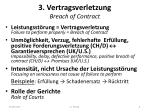 3 vertragsverletzung breach of contract