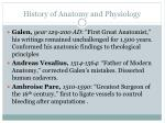 history of anatomy and physiology1
