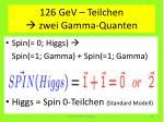 126 gev teilchen zwei gamma quanten