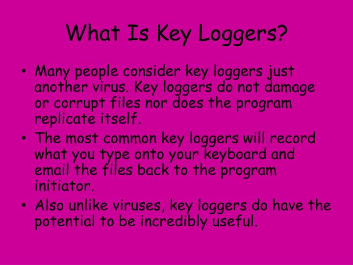 What is key loggers1