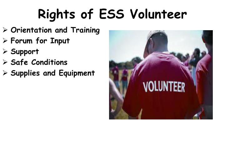 Rights of ESS