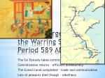 china emerges from the warring states period 589 ad