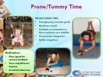 prone tummy time