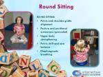 round sitting
