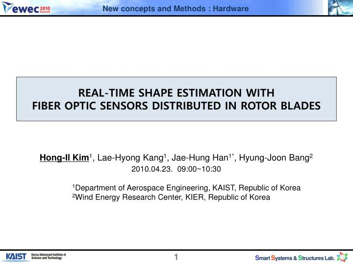 real time shape estimation with fiber optic sensors distributed in rotor blades n.