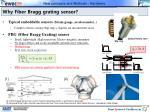 why fiber bragg grating sensor