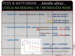 pcos metformin klini ki u inci utjecaj na debljinu ir metaboli ke rizike1