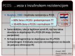 pcos veza s inzulinskom rezistencijom