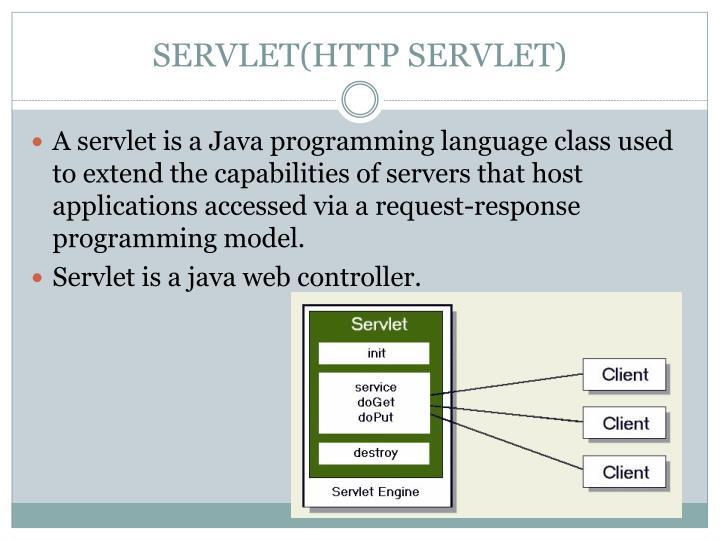 SERVLET(HTTP SERVLET)