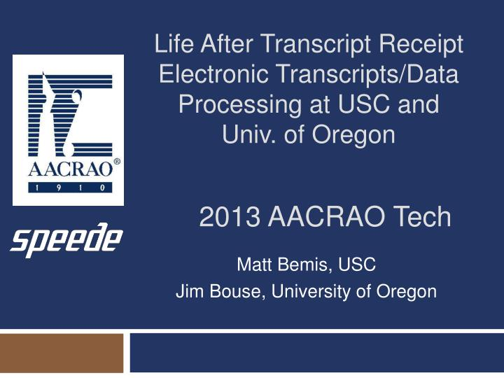 Ppt 2013 Aacrao Tech Powerpoint Presentation Id2074895