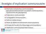 strat gies d implication communautaire