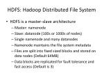 hdfs hadoop distributed file system