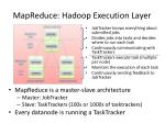 mapreduce hadoop execution layer