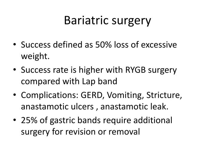 Bariatric surgery1
