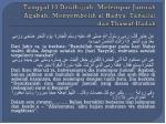 tanggal 10 dzulhijjah melempar jumrah aqabah menyembelih al hadyu tahallul dan thawaf ifadah
