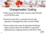 chargemaster coding