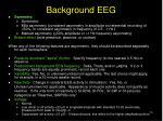 background eeg
