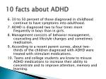 10 facts about adhd1