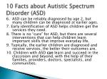 10 facts about autistic spectrum disorder asd1