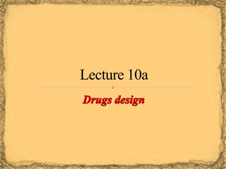 lecture 10a n.