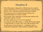 morphine ii