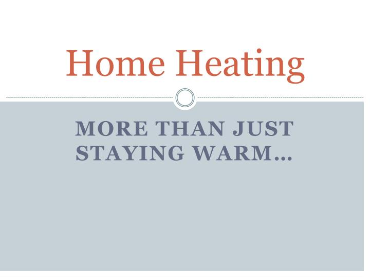 home heating n.
