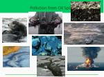 pollution from oil spills