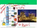 science refining crude oil