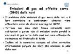 emissioni di gas ad effetto serra ghg dalle navi
