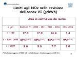 limiti agli nox nella revisione dell annex vi g kwh