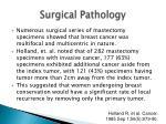 surgical pathology
