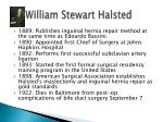 william stewart halsted1