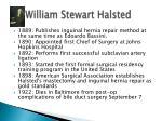 william stewart halsted1
