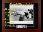 doolittle raids
