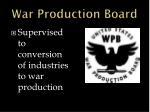war production board