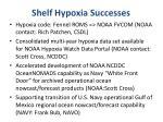 shelf hypoxia successes