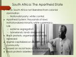 south africa the apartheid state