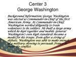 center 3 george washington