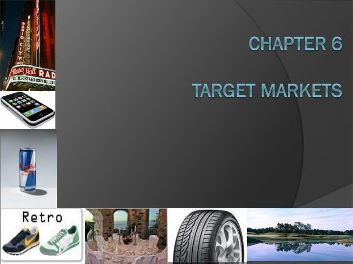 chapter 6 target markets n.