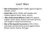 louis wars