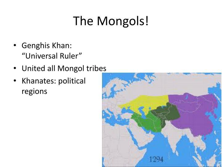 The Mongols!
