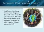 qur an and environmental ethics