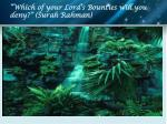 which of your lord s bounties will you deny surah rahman1