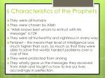 6 characteristics of the prophets