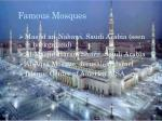 famous mosques