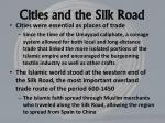 cities and the silk road