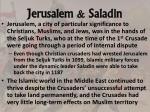 jerusalem saladin
