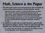 math science the plague