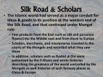 silk road scholars