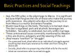 basic practices and social teachings2